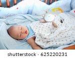 cute little asian 6 months old  ... | Shutterstock . vector #625220231