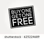 buy one get one free | Shutterstock .eps vector #625224689