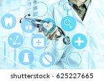 hands of medical doctor | Shutterstock . vector #625227665