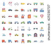 transport icons | Shutterstock .eps vector #625230737