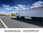 truck on the road | Shutterstock . vector #625244519