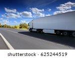 truck on the road | Shutterstock . vector #625244519