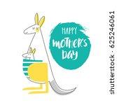 cute creative card template ... | Shutterstock .eps vector #625246061