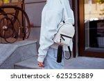 detail of young beautiful woman ... | Shutterstock . vector #625252889