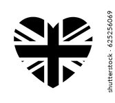london heart icon | Shutterstock .eps vector #625256069