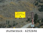 Runaway Truck Ramp On...