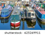 boats and yachts moored at... | Shutterstock . vector #625269911