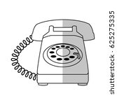 telephone icon image | Shutterstock .eps vector #625275335