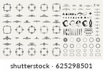 circle and square wicker... | Shutterstock .eps vector #625298501