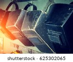 protective masks for welders | Shutterstock . vector #625302065