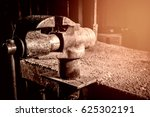 old vise  but workers | Shutterstock . vector #625302191