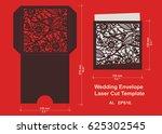 laser cut flower pattern for... | Shutterstock .eps vector #625302545