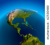 Caribbean  Pacific And Atlanti...