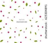origami paper pink rose... | Shutterstock . vector #625304891