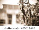 soft focus on dream catcher... | Shutterstock . vector #625314647