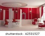 Stock photo furniture in luxury bedroom 62531527