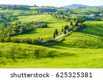pienza  italy   may 9  2014 ... | Shutterstock . vector #625325381