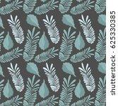 leaf of natural plant herb... | Shutterstock .eps vector #625330385