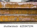 metal rusty  | Shutterstock . vector #625347194