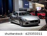 geneva 2017  maserati ghibli...   Shutterstock . vector #625353311