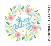 beautiful save the date card... | Shutterstock .eps vector #625374857