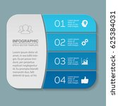 vector infographic template ... | Shutterstock .eps vector #625384031