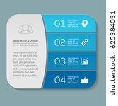 vector infographic template ...   Shutterstock .eps vector #625384031