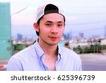 portrait a handsome man  when...   Shutterstock . vector #625396739