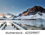 Bow Lake Sunrise  Banff...