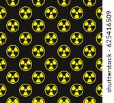 seamless pattern with radiation ... | Shutterstock .eps vector #625416509