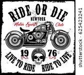Motorcycle Club Vintage Skull...