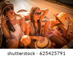 group of young and cute girls...   Shutterstock . vector #625425791