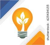 illustration for bulb with... | Shutterstock .eps vector #625434155