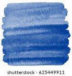 navy blue watercolor brush... | Shutterstock . vector #625449911