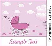 girl arrival | Shutterstock .eps vector #62545939
