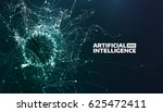 artificial intelligence vector... | Shutterstock .eps vector #625472411