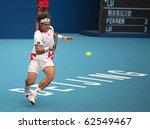 beijing oct 7  david ferrer of... | Shutterstock . vector #62549467