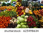 Vegetables And Fruits At The...