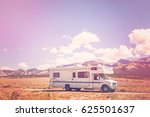 Motor Home Near The Great Sand...