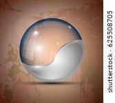 vector illustration of the half ... | Shutterstock .eps vector #625508705