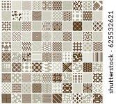 graphic vintage textures... | Shutterstock . vector #625532621