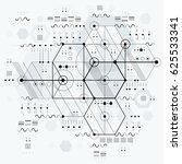 technical plan  engineering... | Shutterstock . vector #625533341