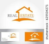 real estate logo vector design | Shutterstock .eps vector #625534271
