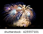 fireworks | Shutterstock . vector #625557101