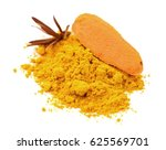 paprika powder isolated | Shutterstock . vector #625569701