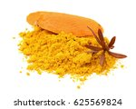 turmeric  curcuma  powder... | Shutterstock . vector #625569824