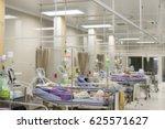 icu room patients crisis ward... | Shutterstock . vector #625571627