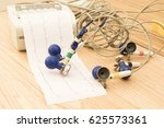 paper with electrocardiogram in ...   Shutterstock . vector #625573361