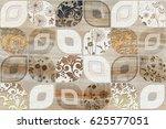 wall   floor tiles design... | Shutterstock . vector #625577051