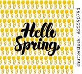 Hello Spring Postcard Design....